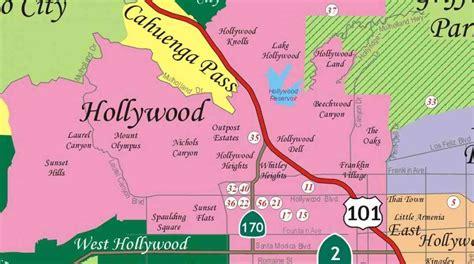 map of neighborhoods 2 map of la neighborhoods my