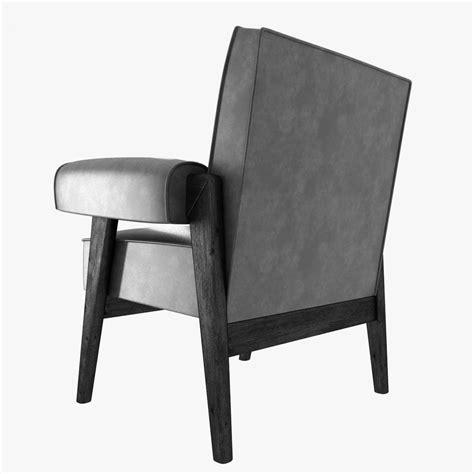 corbusier armchair le corbusier and pierre jeanneret armchair 3d model max