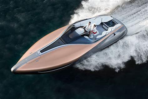 lexus boat twin v8 powered seafaring lexus is pretty but sadly won