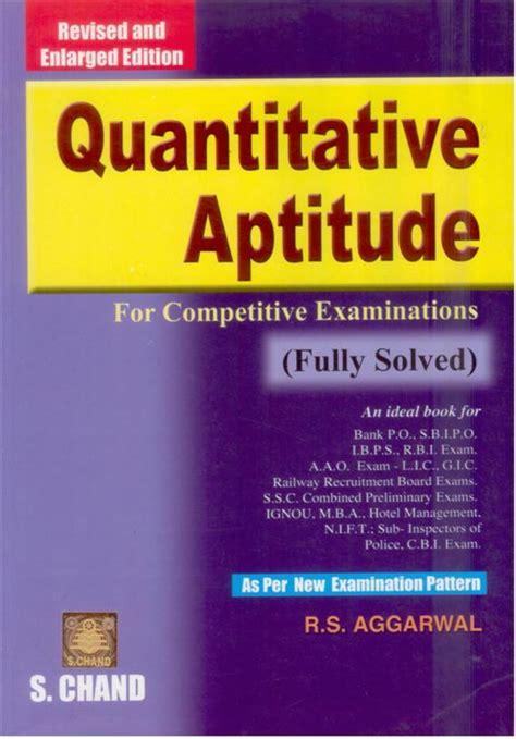 Mba Entrance Book By Rs Aggarwal by From Which Books To Prepare Mathematics For Bank Po