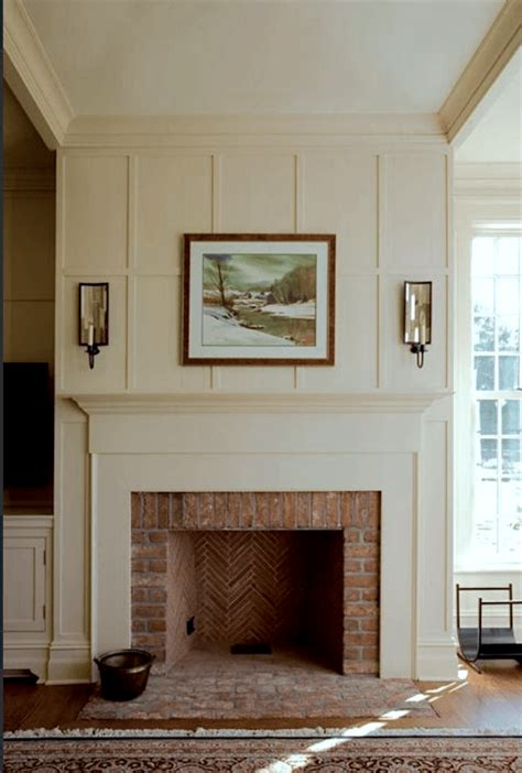 brick fireplace mantels my husband our brick fireplace laurel home
