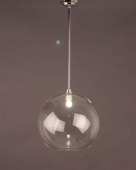 Handmade Lighting Uk - clear globe pendant bathroom ceiling light hereford retro