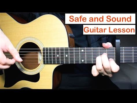 tutorial guitar safe and sound safe and sound taylor swift guitar lesson tutorial