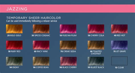 jazzing hair color clairol jazzing temporary hair color