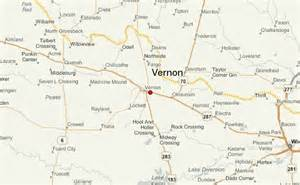 map of vernon texas vernon texas location guide