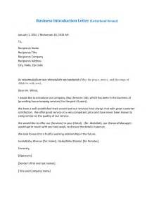 Introduction Letter To Clients Template Amazing Sample Business Introduction Letter Letter