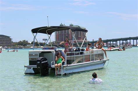 destin x pontoon boat rental 25 beautiful pontoon boat rentals ideas on pinterest