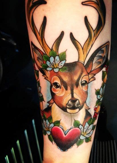 traditional deer tattoo 132 best u images on