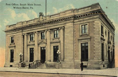 Post Office Wilkes Barre by Post Office South Wilkes Barre Pa