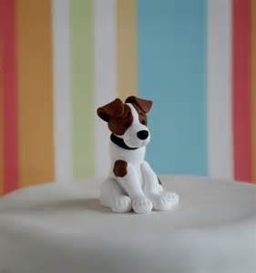 Handmade Wedding Gifts Jack Russell Cake Topper Folksy