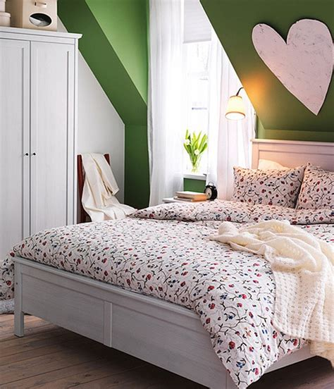 refreshing green bedroom designs fresh spring bedroom design 2013