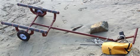 boat dolly plans for small sail boat dolly cart carrier sunfish