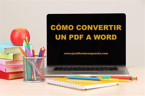 convertir imagenes de pdf a word gratis c 243 mo convertir pdf a word totalmente gratis y en segundos