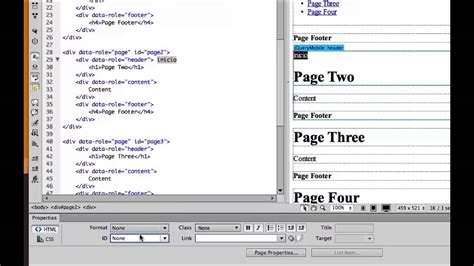 dreamweaver tutorial mobile website tutorial crear un sitio web con jquery mobile en