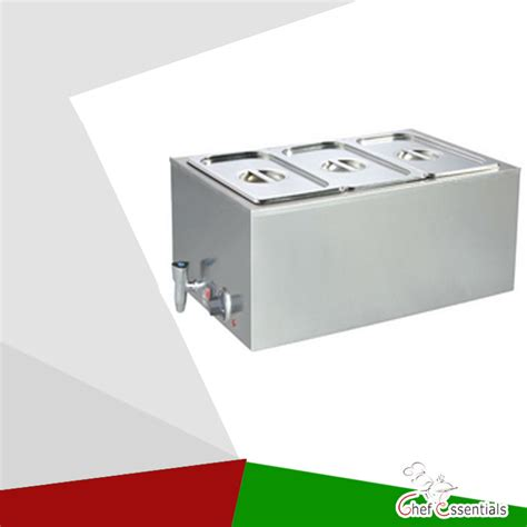 Pklh K165at 3 Restaurant Electric Bain Marie Buffet Food Container For Buffet