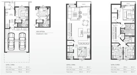 town home plans luxury townhomes floor plans