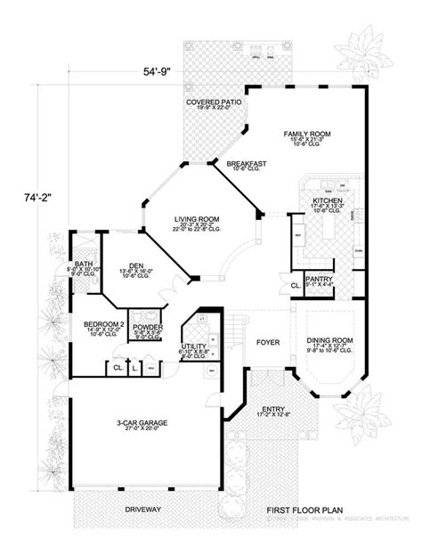 Homeplans Com Review by Luxury Home With 7 Bdrms 6449 Sq Ft House Plan 107 1177