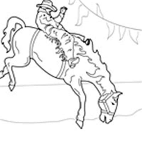 coloring pages of bucking horses bucking bronco 187 coloring pages 187 surfnetkids