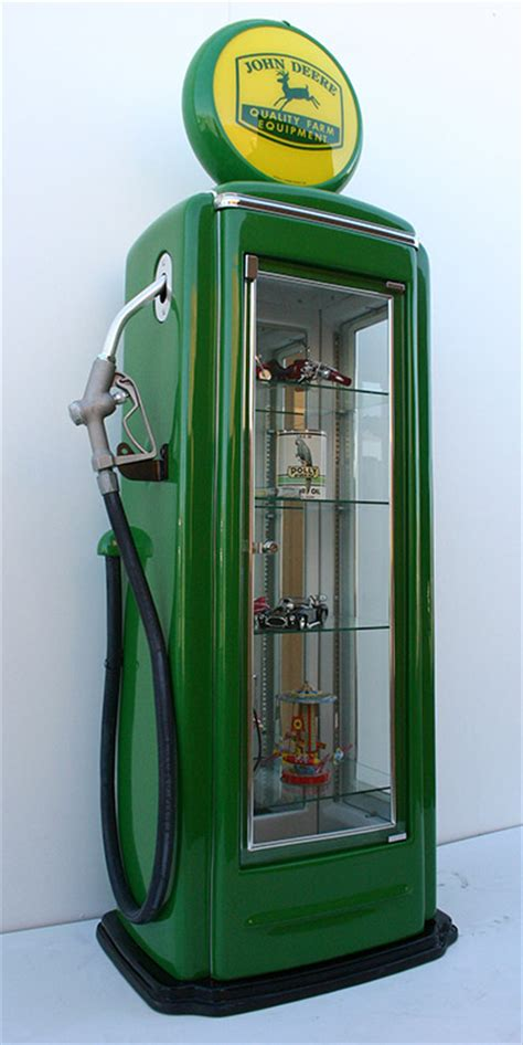 gas pump display cabinet wall relief replica gas pumps for marketing and man caves