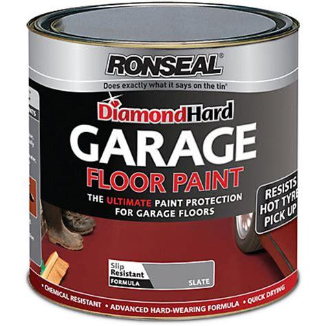 Garage Floor Paint Ronseal Ronseal Slate Garage Floor Paint 2 5l
