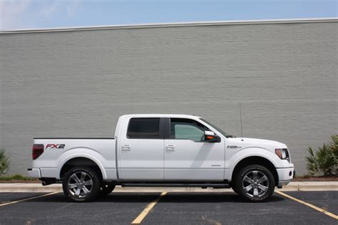 Best Tires For Ford F150 Fx2 My 2012 Oxford White Fx2 Leveled Ford F150 Forum