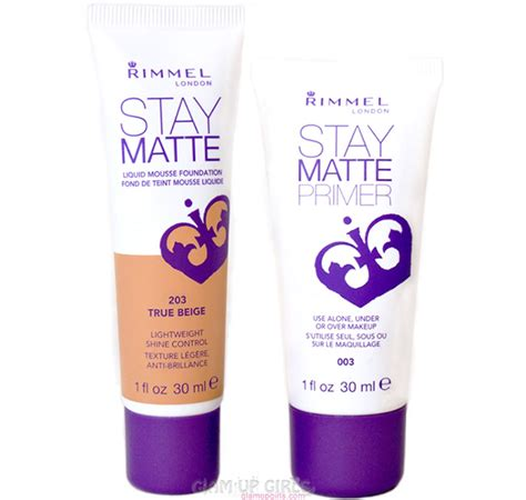 Review Rimmel Stay Matte Primer rimmel makeup primer reviews mugeek vidalondon