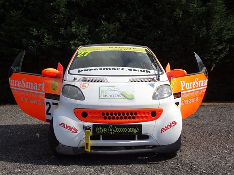 smart roadster race car racecarsdirect smart car fortwo race car track day car