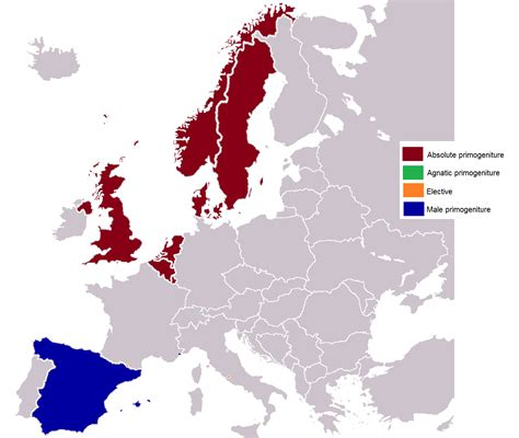 people and places downfall of european royalty one hundred years ago primogeniture wikipedia