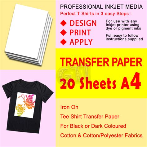 laser printer iron on transfer paper office max gti 20 x t shirt transfer paper iron on for dark fabrics