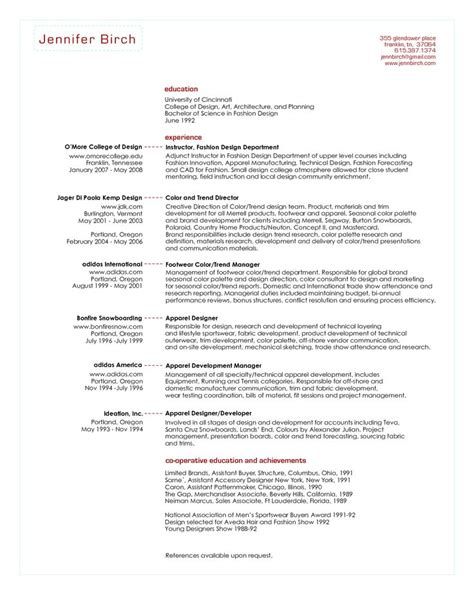 senior buyer resume sle senior buyer resume