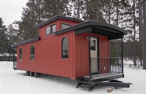 tiny house models caboose park model tiny house on wheels