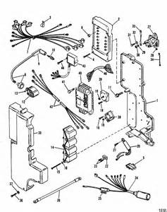 mercury marine 115 hp 4 cyl electrical components parts