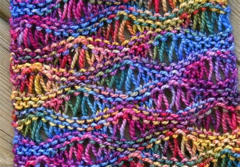 drop stitch knitting free pattern this drop stitch scarf looks great in