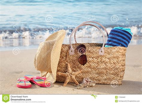 Coast Into Summer With The Handbag by Summer Bag On Stock Image Image 17556481