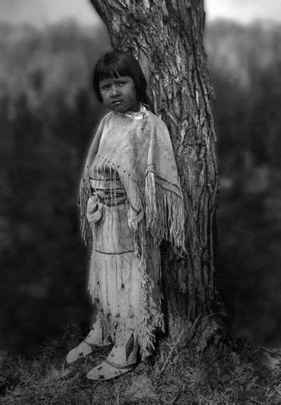 Apache Child. Photo by Edward S. Curtis. | Native american
