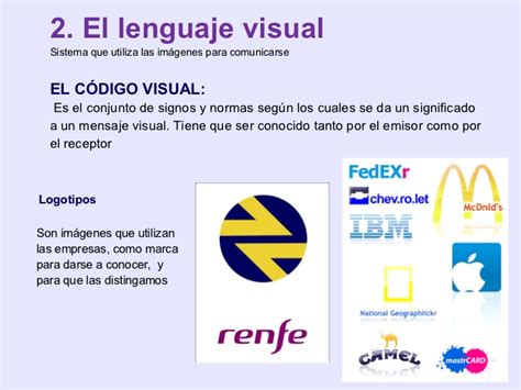 imagenes lenguaje visual tema1 el lenguaje visual