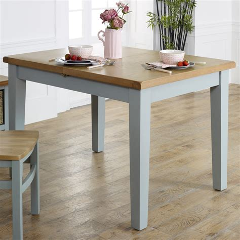 grey extending dining table rochford range melody maison