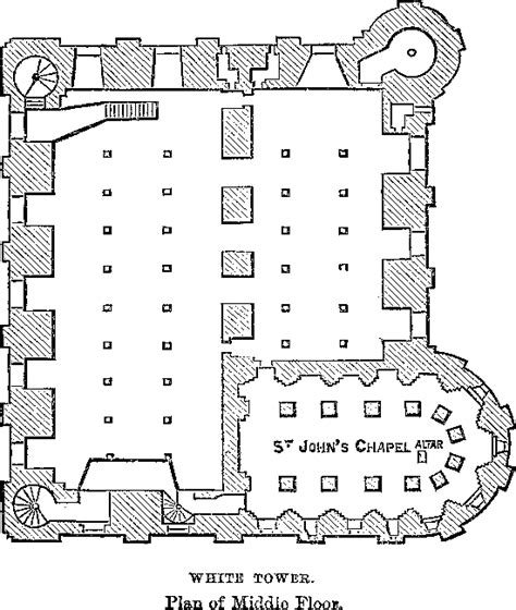white tower floor plan the project gutenberg ebook of authorised guide to the