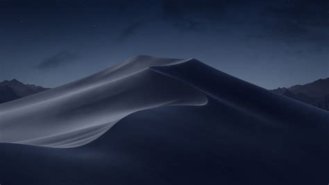 macos mojave night desert  wallpapers hd wallpapers