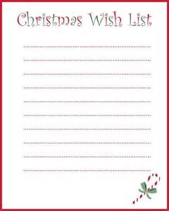 About christmas list printable on pinterest christmas shopping list