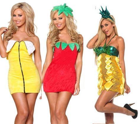 cute themes to dress up halloween fancy fruit mini party dress costume banana