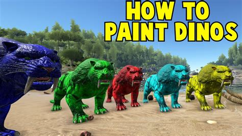 spray painter ark ark survival give all paint colors 15 questions to ask