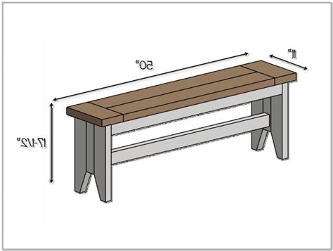 standard bench height 28 images diy farmhouse bench