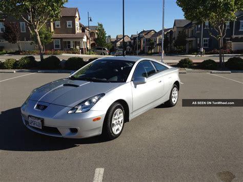 2001 Toyota Celica Gts 2001 Toyota Celica Gt Hatchback 2 Door 1 8l