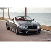 Bentley Continental GT Convertible On HRE Wheels