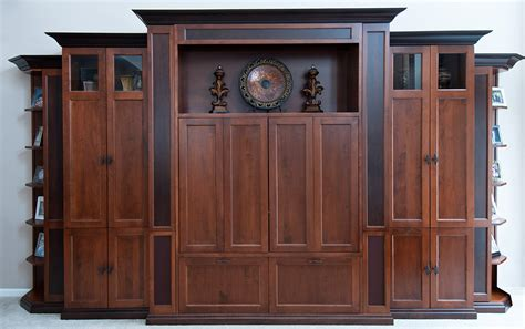 center of woodwork entertainment centers custom wood creations
