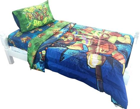 Tmnt Bedding by Mutant Turtles Bed Comforter Time