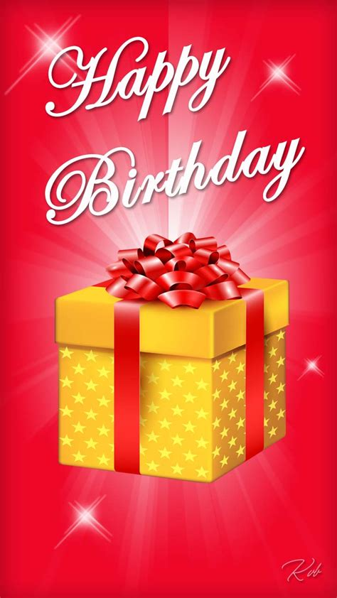 happy birthday with gift freeproducts