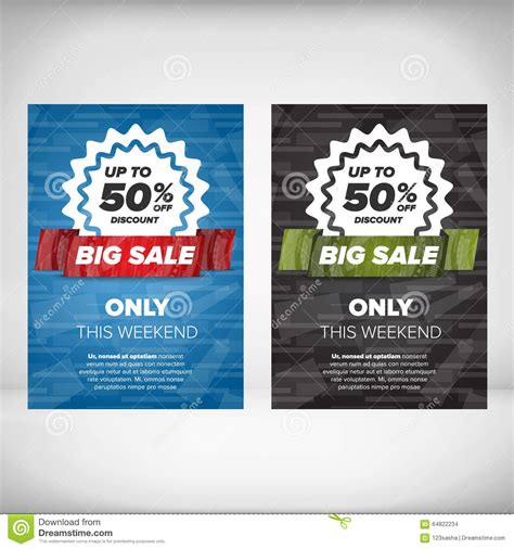 template flyer model big sale flyer template stock vector i and flyer templates
