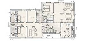 one storey residential floor plan grona a 3 4 bedroom timber framed self build home from